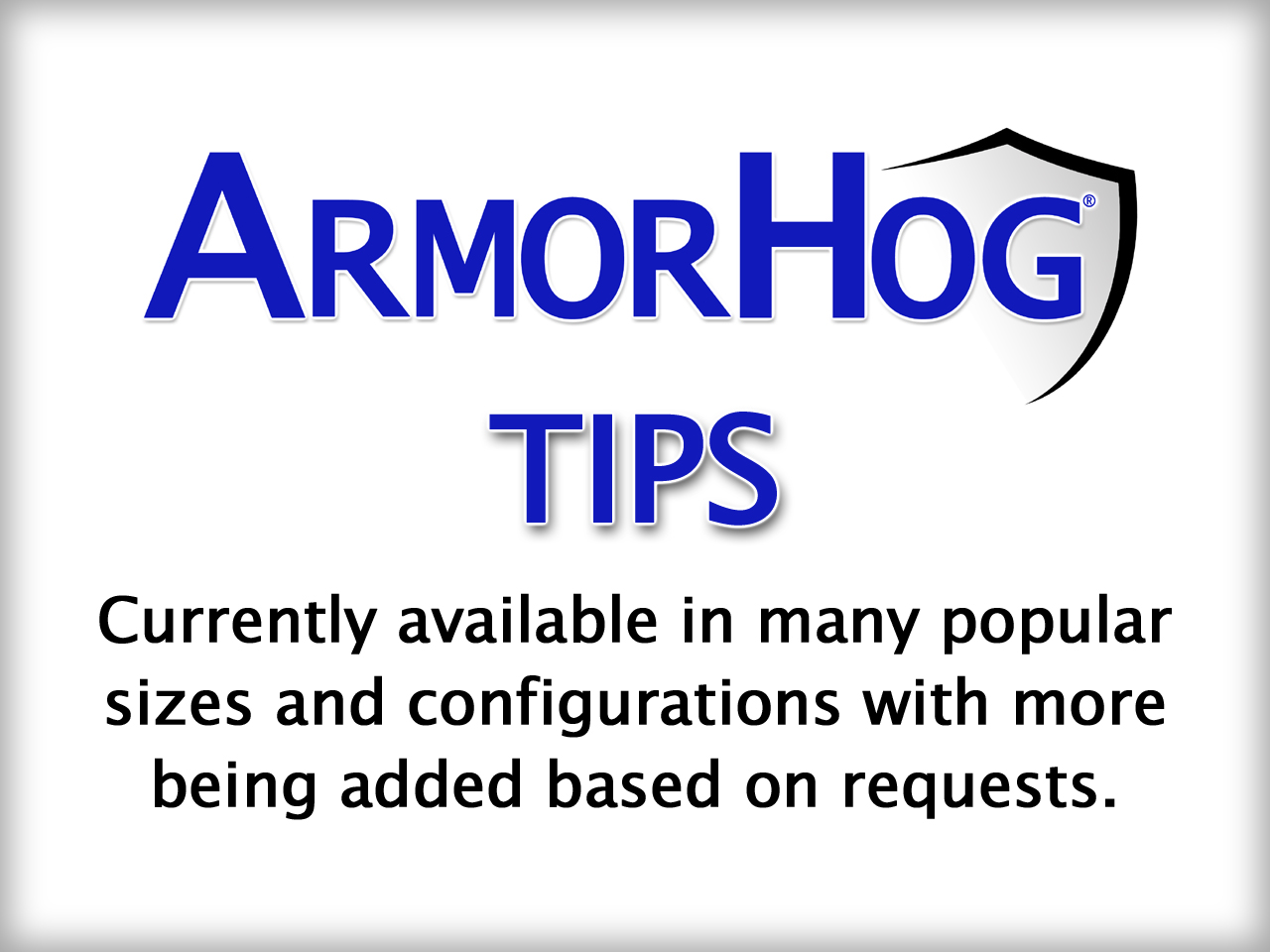 ARMORHOG TIPS copy